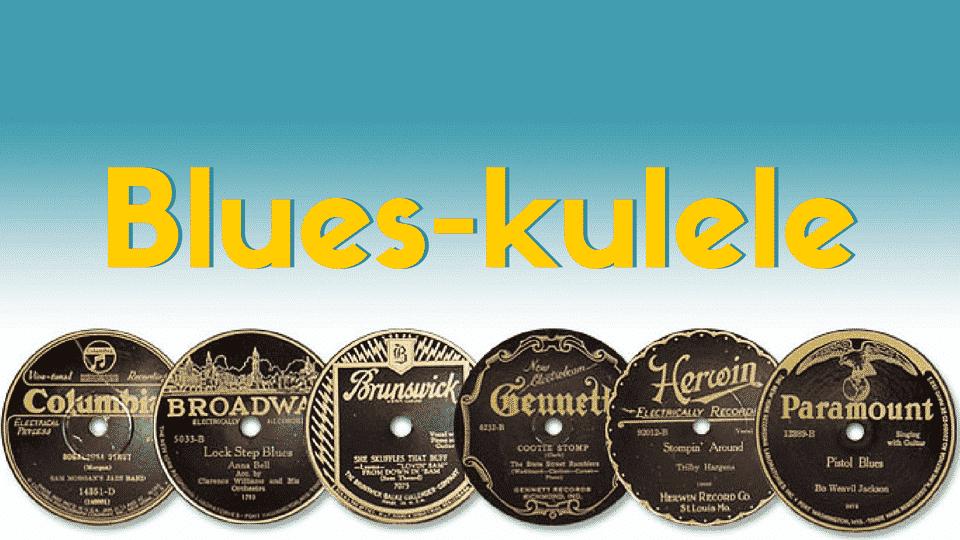 Blues kulele rectangle